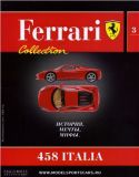 03 - 458 Italia - Časopis Ferrari Collection - bez modelu