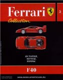 05 - F40 - Časopis Ferrari Collection - bez modelu