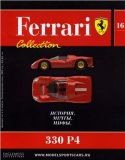 16 - 330 P4 - Časopis Ferrari Collection - bez modelu