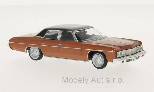 Chevrolet Bel Air - 1973 1:43 - WhiteBox časopis s modelem