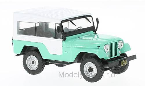 Jeep CJ-5 - 1963 časopis s modelem - WhiteBox