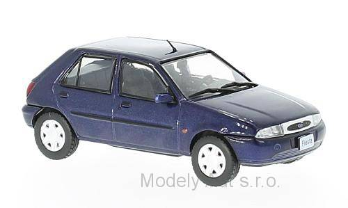 Ford Fiesta MK IV - 1996 časopis s modelem WhiteBox