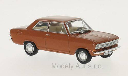 Opel Kadett B - 1970 1:43 - WhiteBox časopis s modelem WhiteBox
