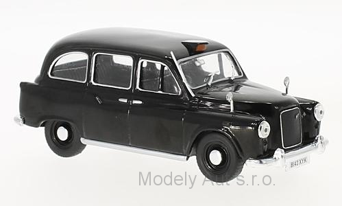 Austin FX4 RHD London Taxi - 1985 1:43 - WhiteBox časopis s modelem