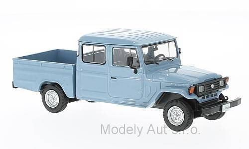Toyota Land Cruiser Bandeirante Pick Up - 1976 1:43 - WhiteBox časopis s modelem