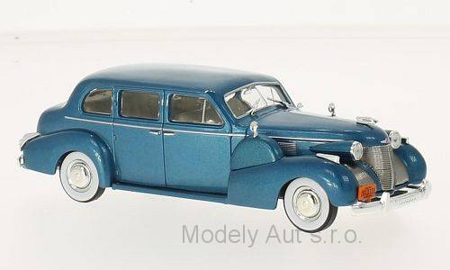 Cadillac Series 75 Fleetwood V8 Sedan - 1939 1:43 - WhiteBox časopis s modelem