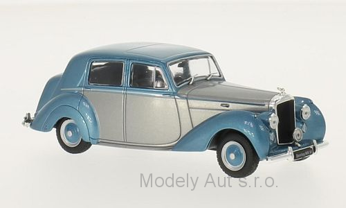 Bentley MK VI, RHD - 1950 1:43 - WhiteBox časopis s modelem