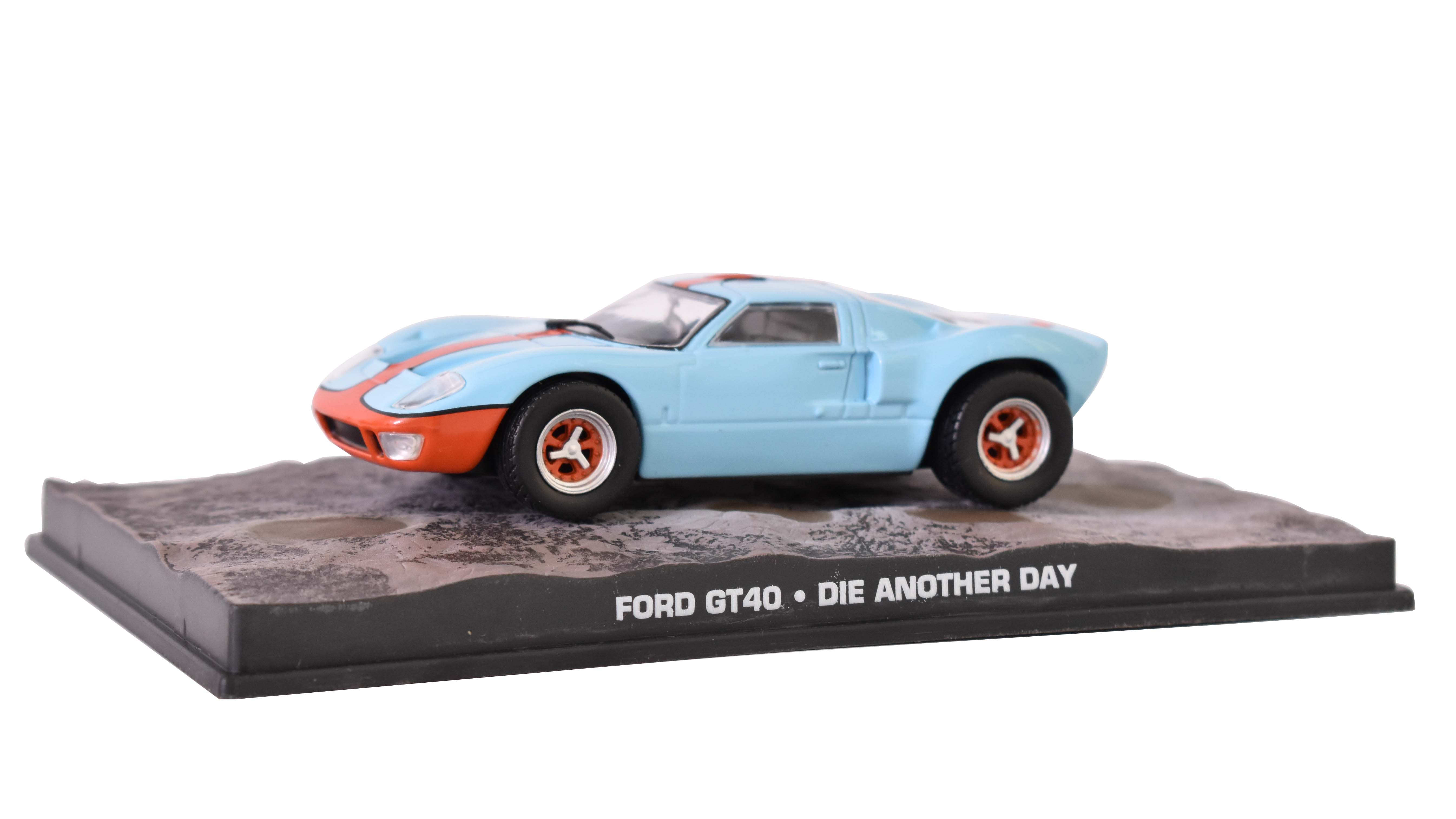 Ford GT40 1968 James Bond 1:43 časopis AutoModels s modelem