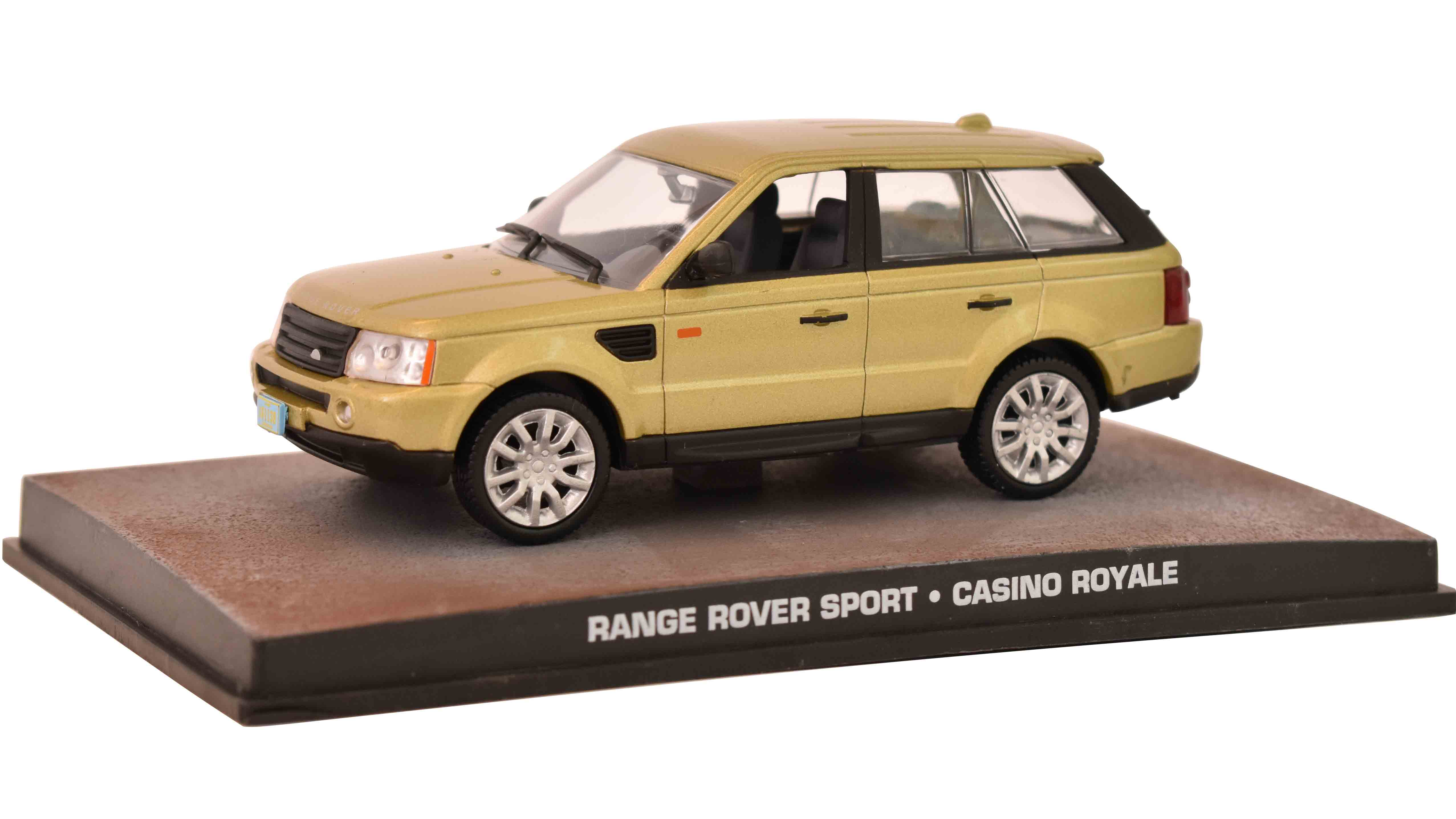 Land Rover Range Rover Sport 2006 James Bond 1:43 časopis AutoModels s modelem