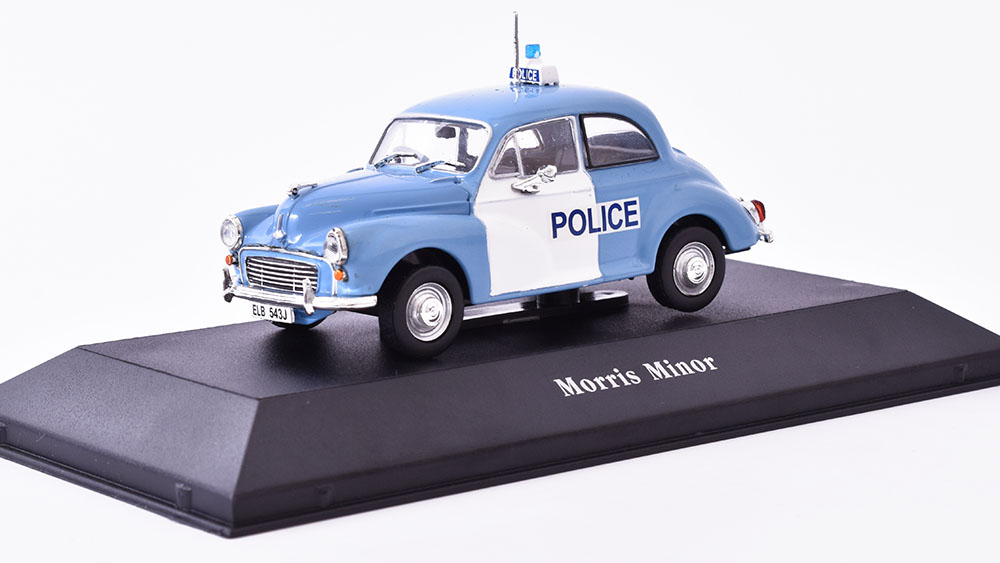 Morris Minor Police - 1957 1:43 Atlas časopis AutoModels s modelem