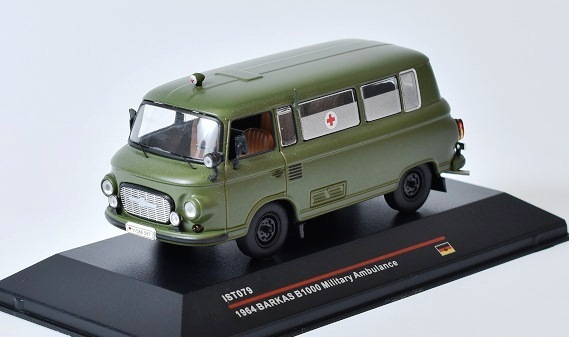 Barkas B1000 Military Ambulance 1964 1:43 - IST models