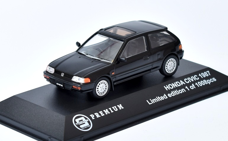HONDA Civic - 1987 1:43 Triple Collection