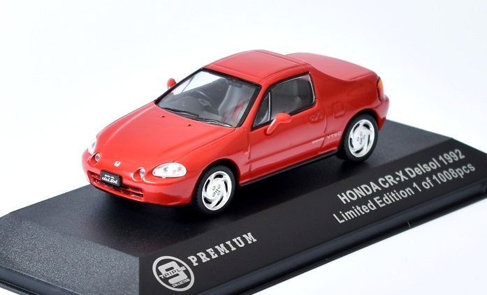 HONDA CR-X Delsol - 1992 1:43 Triple Collection