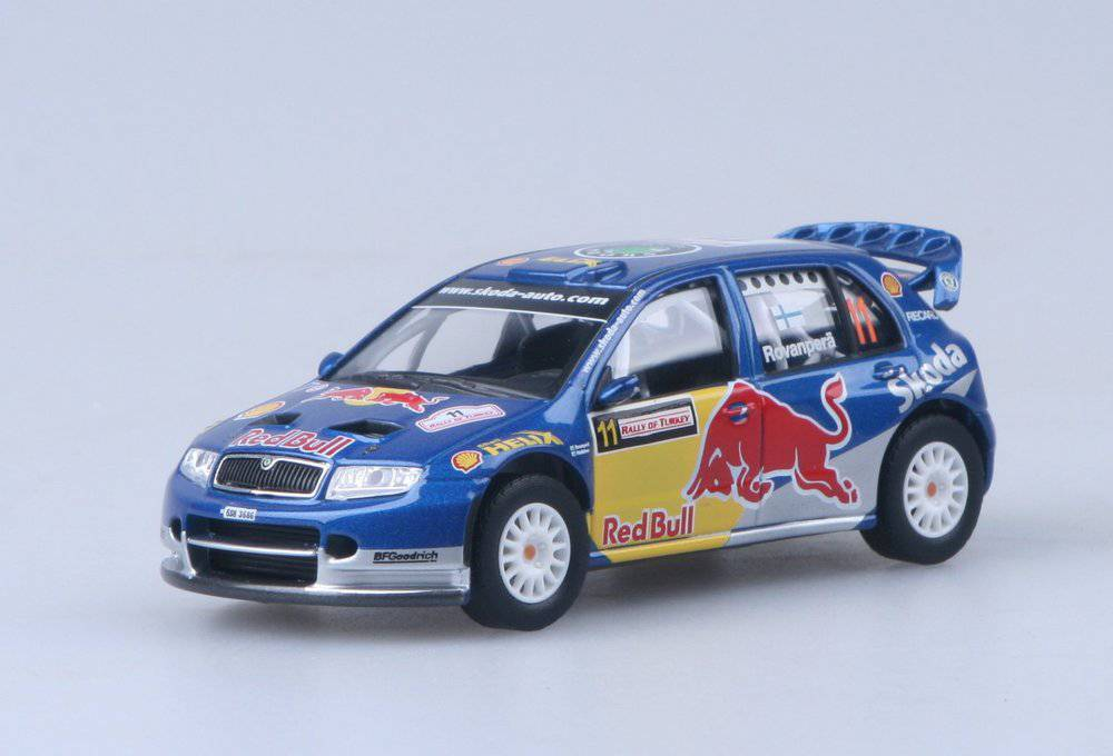 Škoda Fabia WRC EVO II Red Bull - Rallye of Turkey 2006