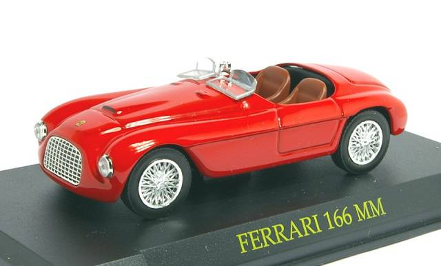 Ferrari 166 MM 1:43 - z časopisu Ferrari Collection - časopis smodelem