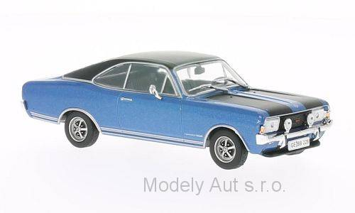 Opel Commodore A Coupe GS/E - 1970 1:43 - WhiteBox časopis s modelem