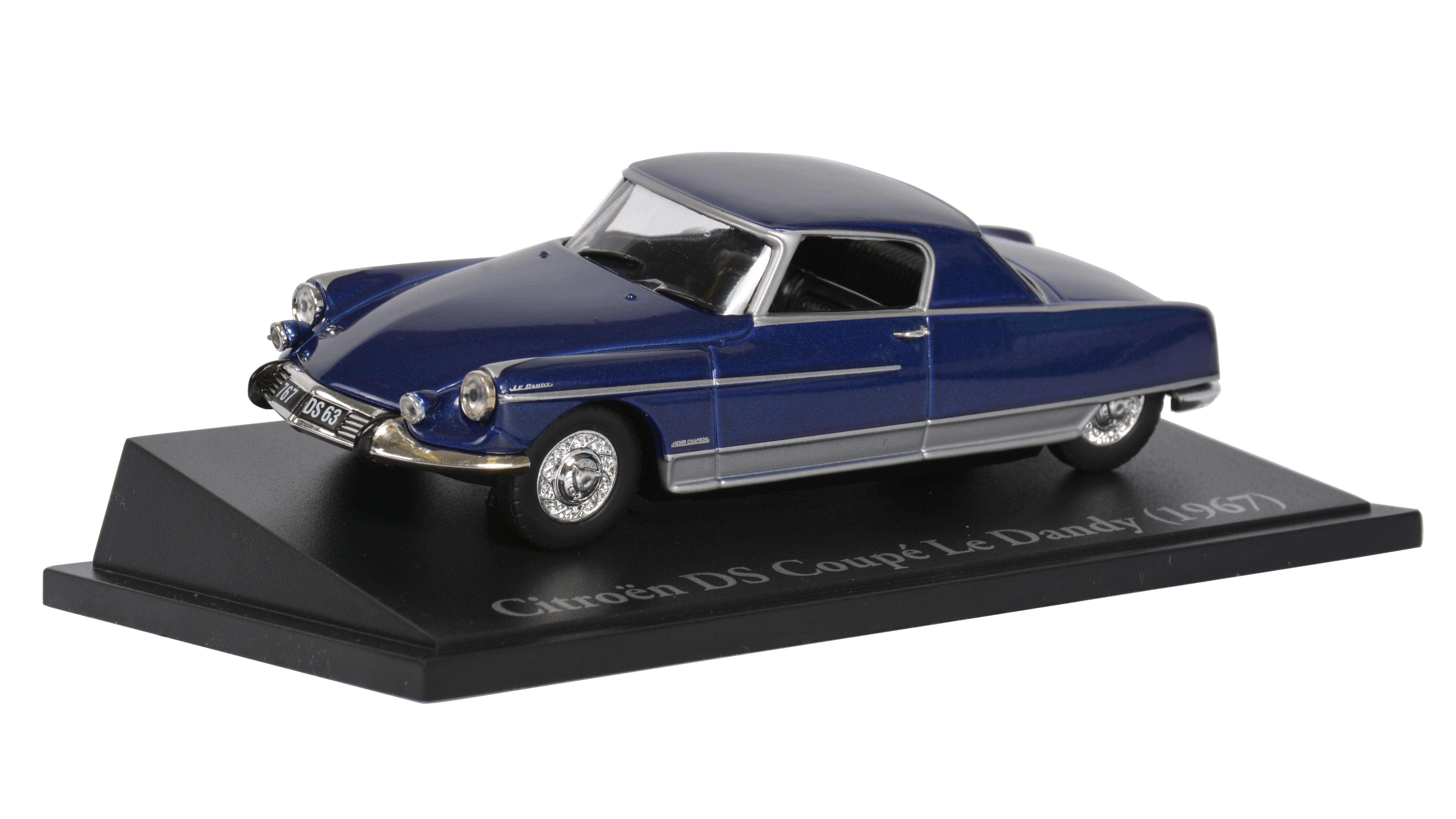 Citroen DS Coupe Le Dandy 1:43 Atlas časopis s modelem