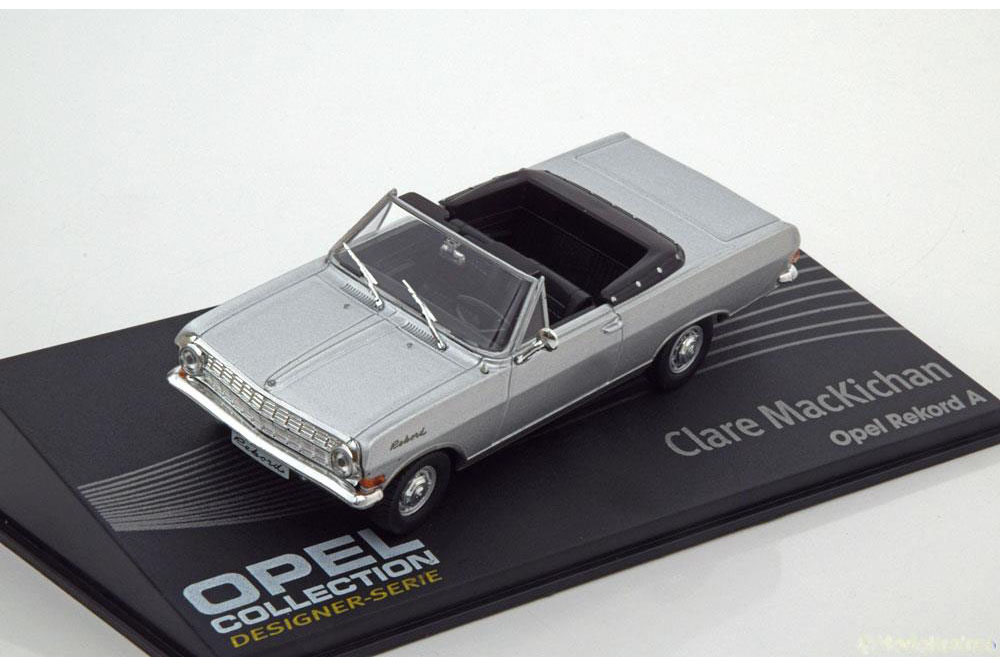 Opel Rekord A cabrio 1:43 Opel collection časopis s modelem