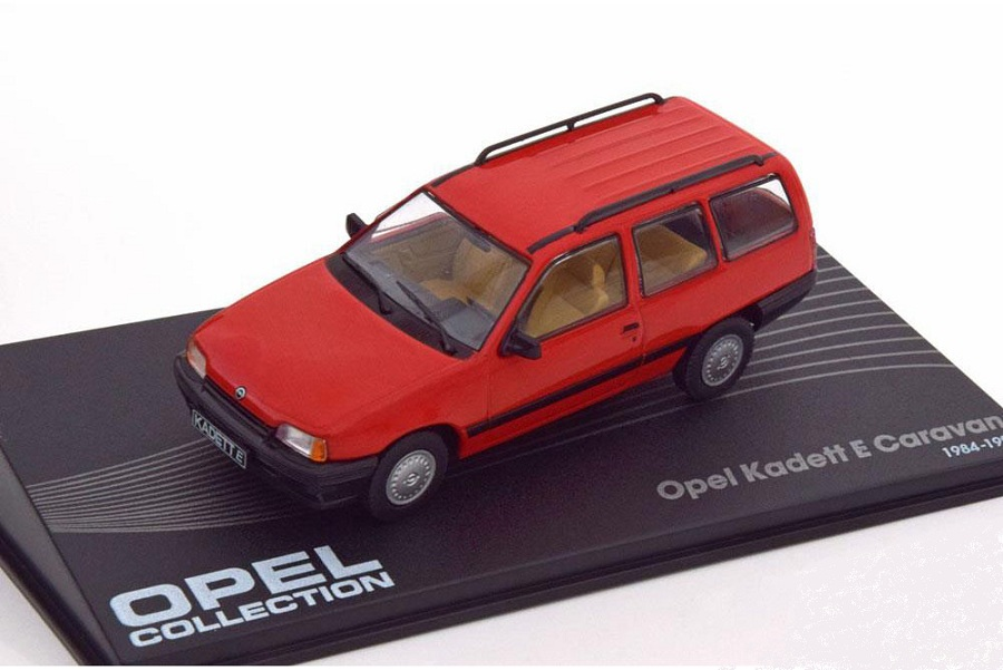 Opel Kadett E caravan 1:43 Opel collection časopis s modelem