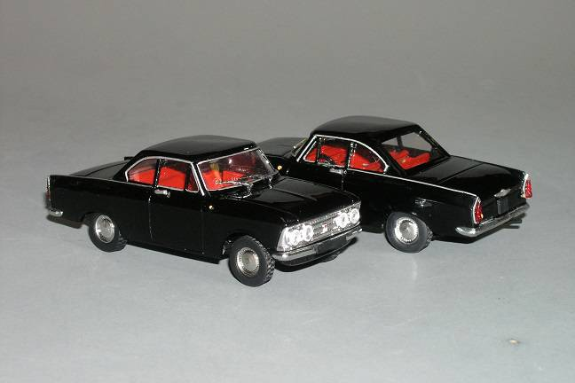 Moskvič 408 Turist coupe - Vector Models