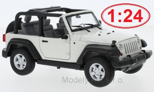 Jeep Wrangler Rubicon - 2007 1:24 - Welly časopis s modelem