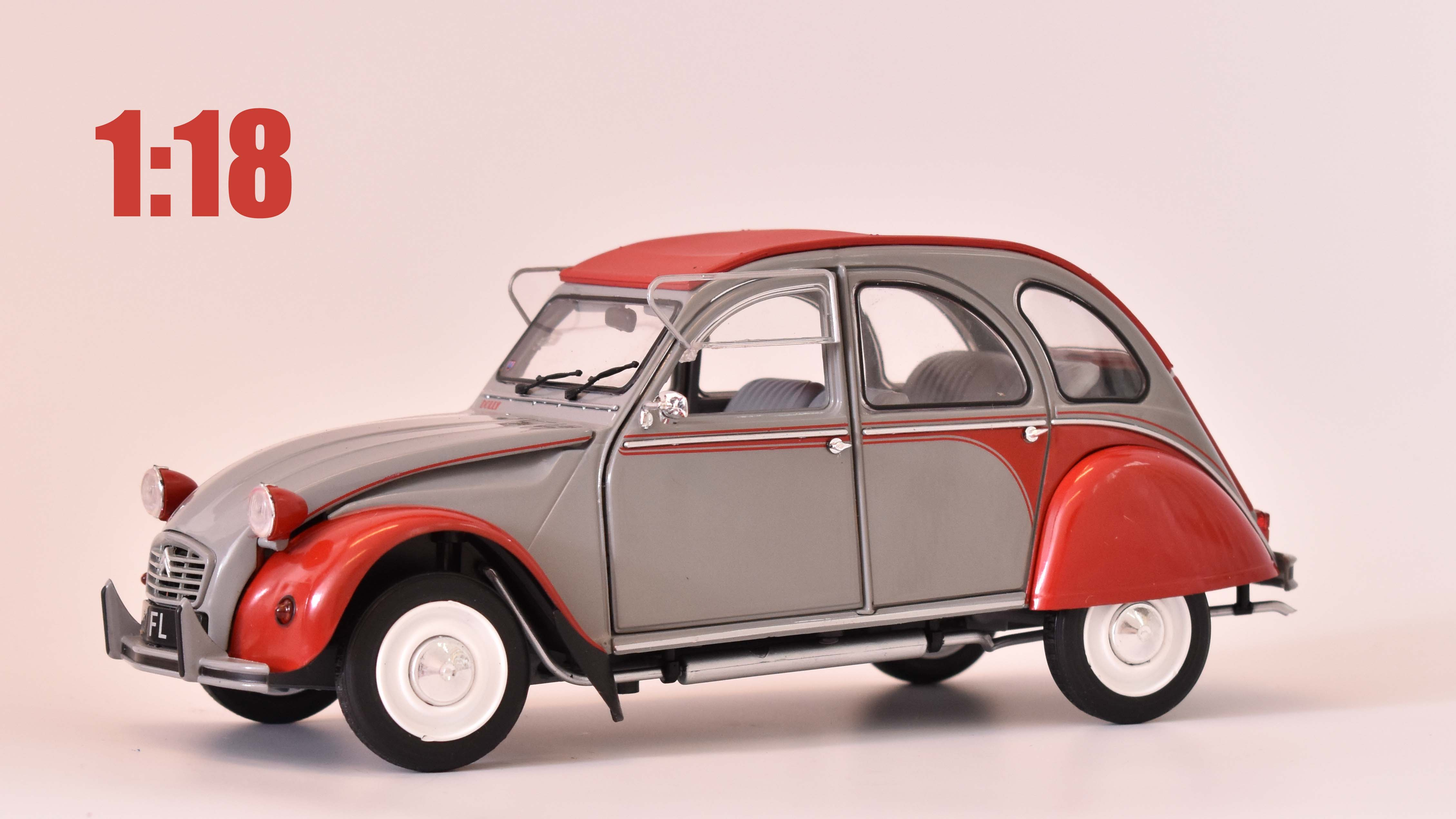 Citroen 2CV Dolly - 1985 1:18 - Solido časopis AutoModels s modelem