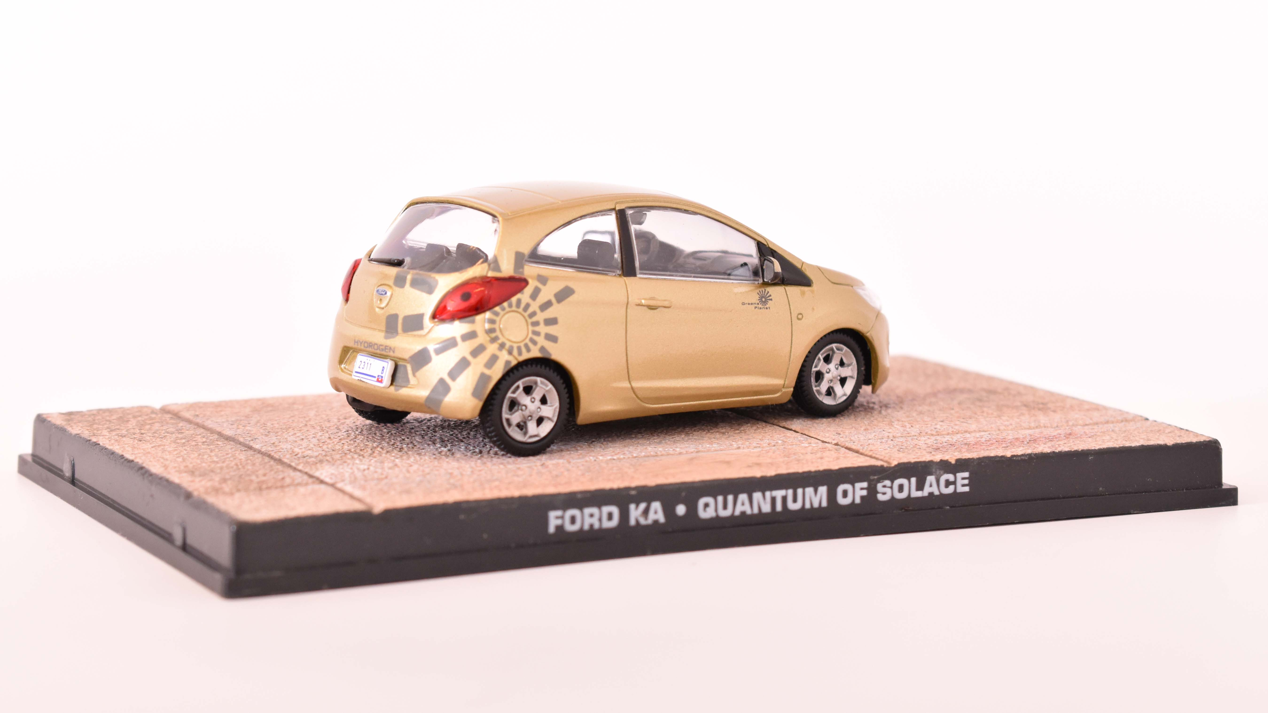 Ford England KA 2009 James Bond 1:43 časopis AutoModels s modelem