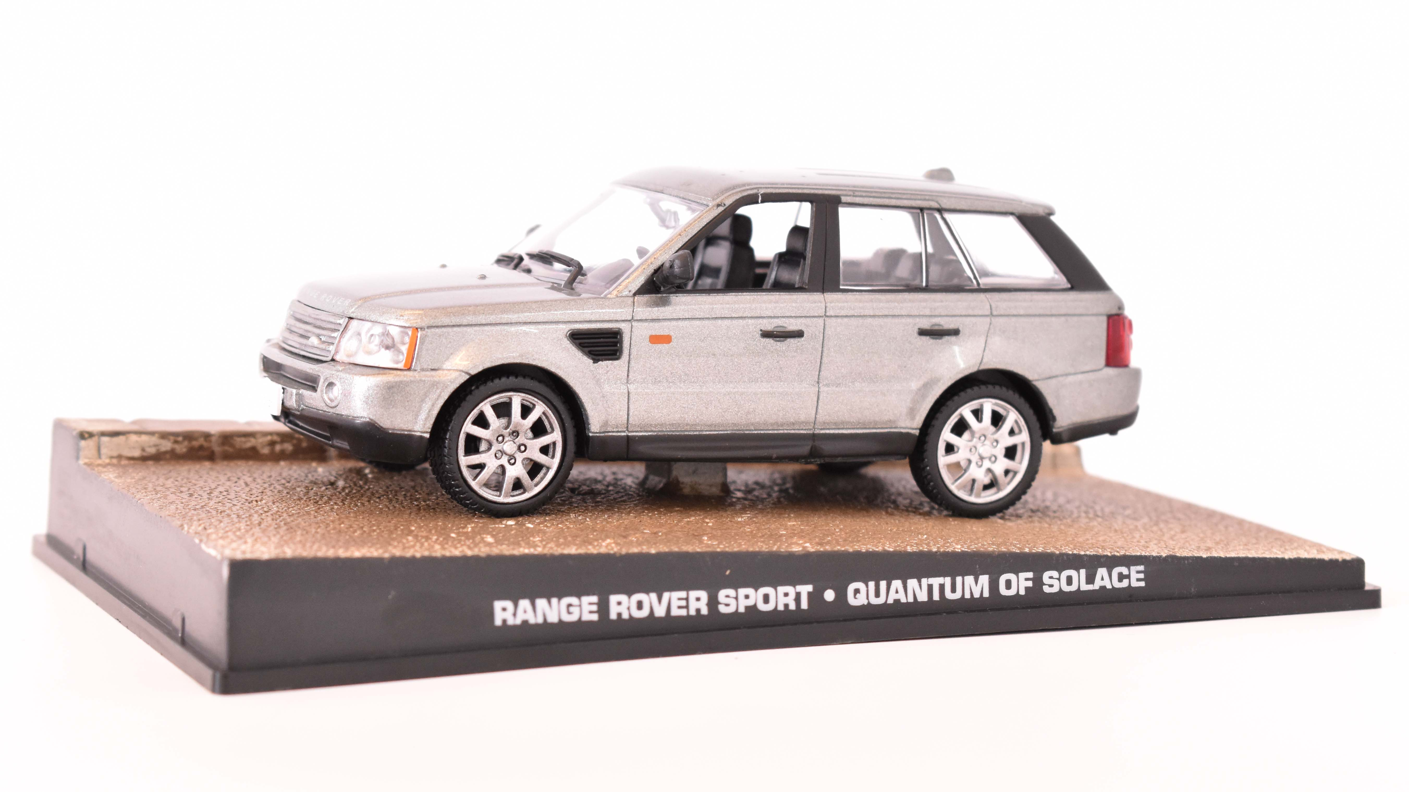 Land Rover Range Sport 2005 James Bond 1:43 časopis AutoModels s modelem