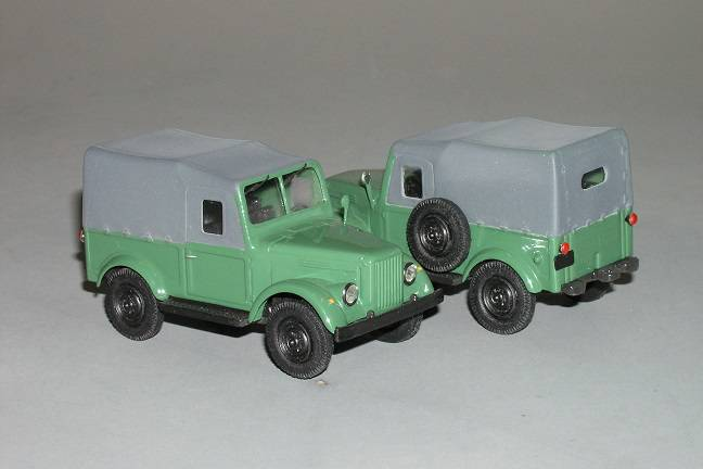 GAZ 69 rok 1950 - Vector models