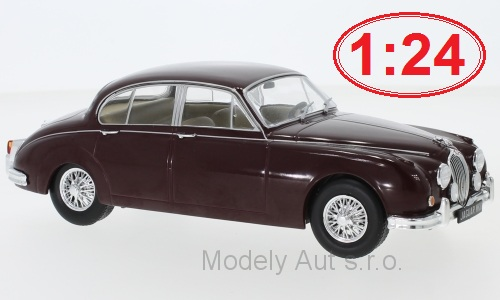 Jaguar MK II - 1960 1:24 - WhiteBox