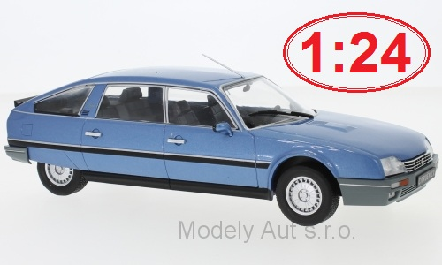 Citroen CX 2500 Prestige Phase 2 - 1986 1:24 - WhiteBox časopis s modelem