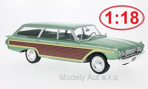 Ford Country Squire - 1960 1:18 - MCG časopis s modelem