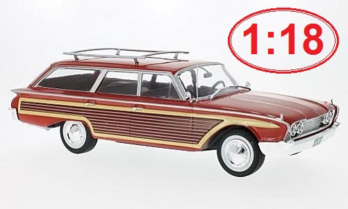 Ford Country Squire 1:18 - MCG časopis s modelem