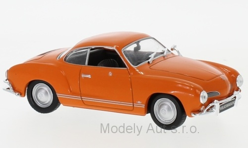 VOLKSWAGEN Karmann Ghia 1:43 - 1962 - WhiteBox časopis s modelem