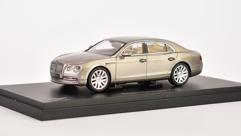 Bentley flying spur W12 2013 1:43 - Kyosho časopis s modelem