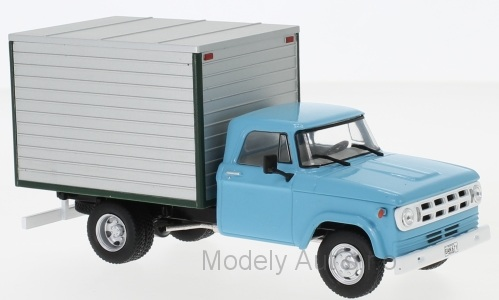 Dodge D-400 Box Van - 1971 1:43 - WhiteBox časopis s modelem