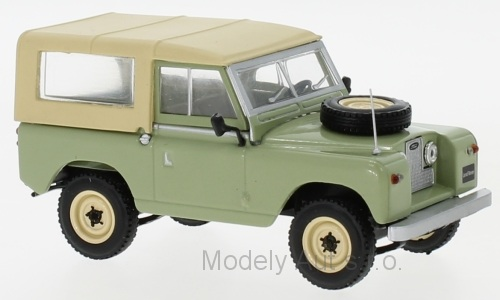 Land Rover 88 Series II - 1961 1:43 časopis s modelem - WhiteBox
