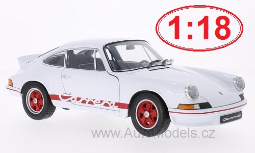 Porsche 911 Carrera RS - 1973 1:18 - Welly časopis s modelem