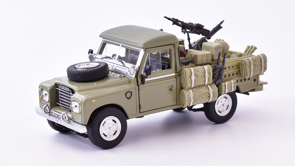 Land Rover III Series 109  Pick-up 1961 1:43 Cararama časopis s modelem