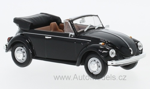 VW Käfer Convertible - 1972 1:43 Lucky Die Cast časopis s modelem