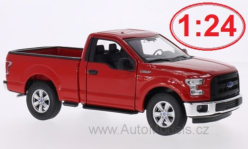 Ford F-150 - 2015 1:24 - Welly časopis s modelem