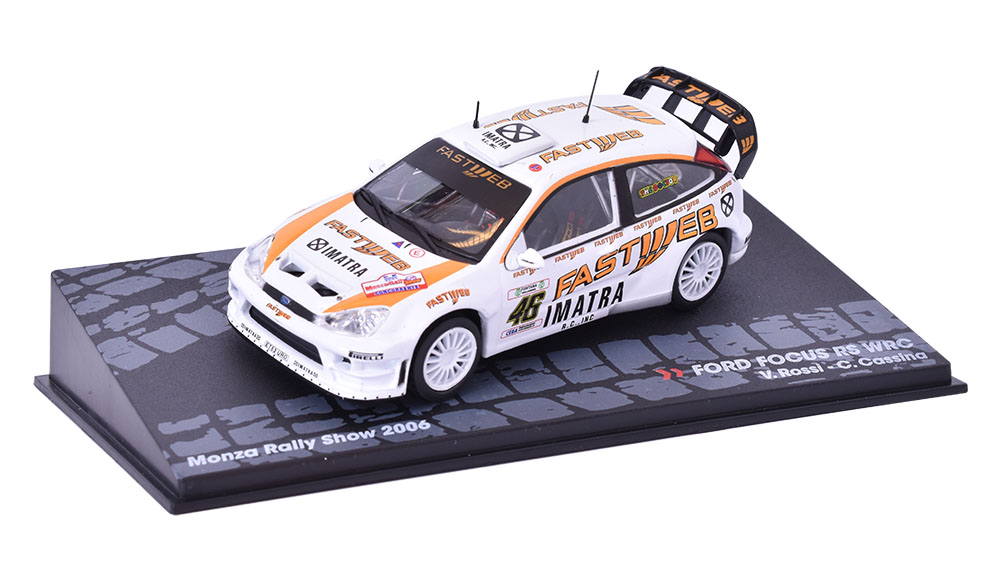 FORD FOCUS RS WRC, Monza Rally Show 2006 1:43 SpecialC. - časopis s modelem