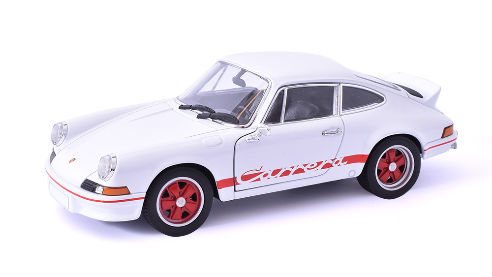 Porsche 911 Carrera RS 2.7 1:24 - Welly časopis s modelem