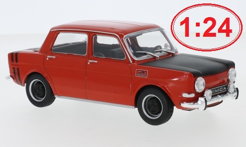 Simca 1000 Rallye 2 - 1970 1:24 - WhiteBox