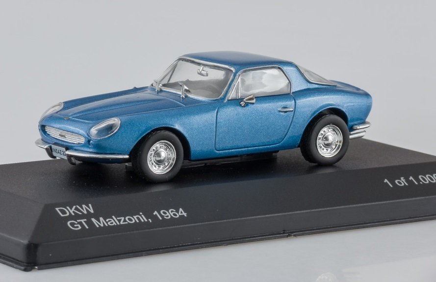 DKW GT Malzoni - 1964 1:43 - WhiteBox