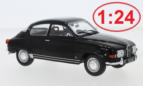 Saab 96 V4 - 1970 1:24 - WhiteBox
