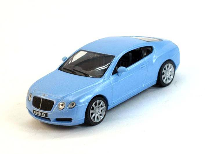 Bentley Continental GT 1:43 - Superauta časopis s modelem #20