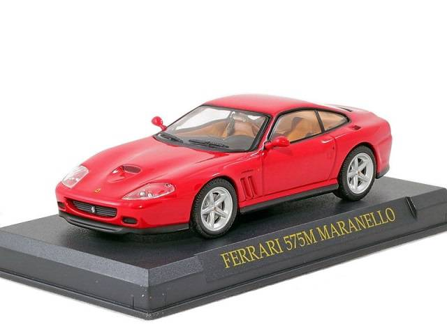 Ferrari 575M Maranello 1:43 Ferrari Collection časopis AutoModels s modelem