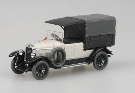 Laurin & Klement Combi Body 1927  bílá (Light Ivory)