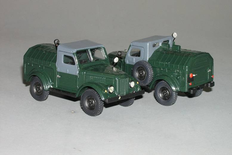 UAZ 915 APA-12 1962 - Vector-models